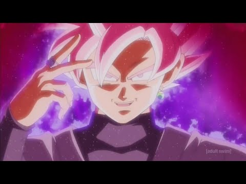 Goku Black Turns Super Saiyan Rosé Dragon Ball Super (English Dub)