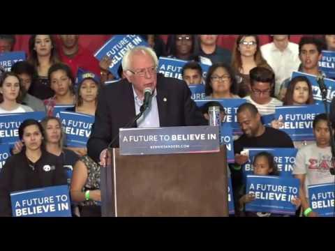 Bernie Sanders Rally in San Bernardino, CA