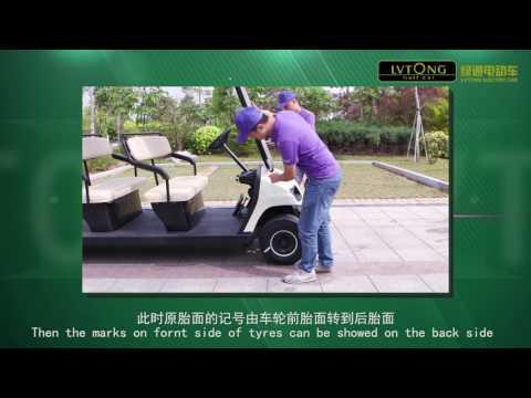 Hướng dẫn căn chỉnh bánh lái ô tô điện LVTONG
