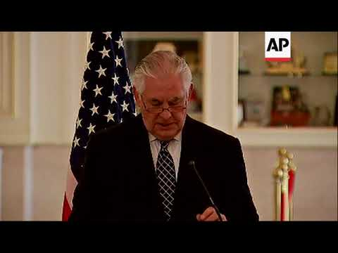 US Secretary of State Tillerson affirms US partnership with Chad