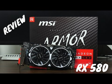 MSI Radeon RX 580 ARMOR 8G OC  Review