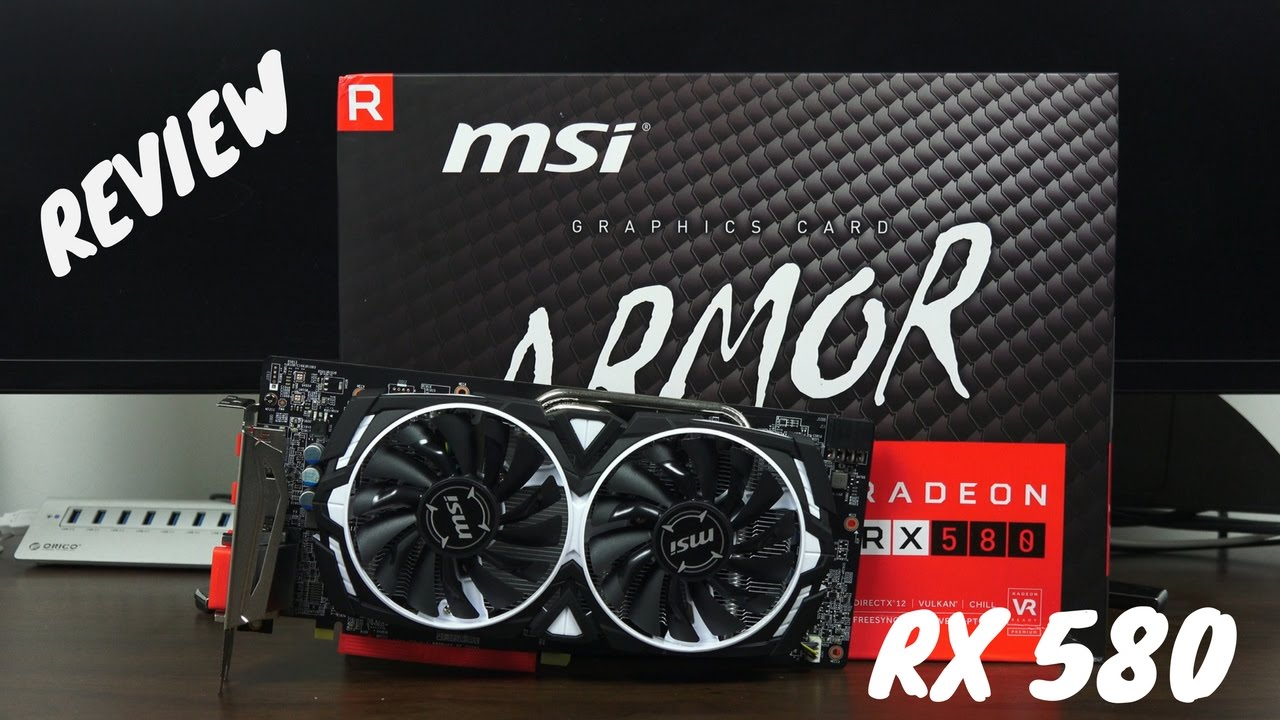 MSI Radeon RX 580 ARMOR 8G OC Review