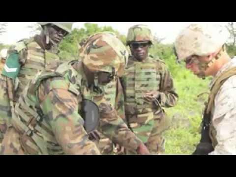 U.S. Marines Train Ugandan Soldiers in Counterterrorism Skills