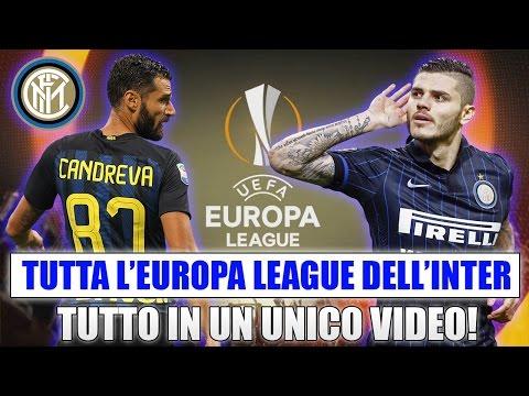 TUTTA L'EUROPA LEAGUE DELL'INTER IN UN UNICO VIDEO!! [By Giuse360]
