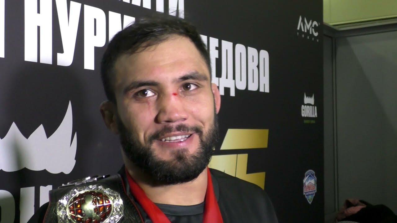 «Хабиб обещал забрать к себе». Слова азербайджанского чемпиона после победы над братом Хабиба