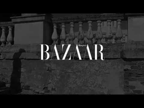 Yuliya Snigir for Harper's Bazaar Russia in Erdem x H&M