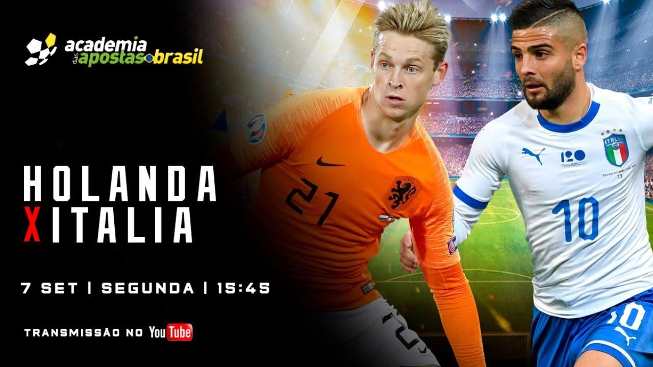 Holanda X Italia Ao Vivo Uefa Nations League Acompanhamento Youtube
