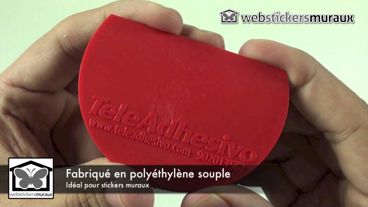 Raclette de pose stickers muraux webstickersmuraux hd youtube - Pose stickers muraux ...