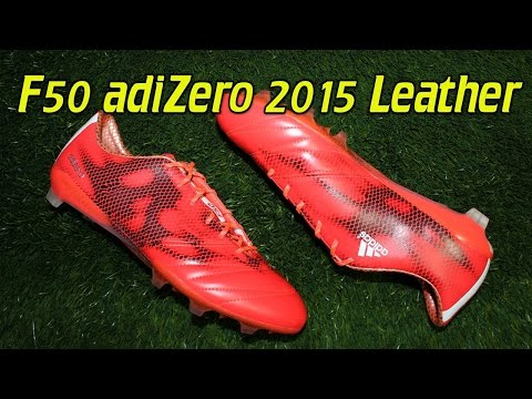leather-adidas-f50-adizero-2015-solar-red---review-+-on-feet