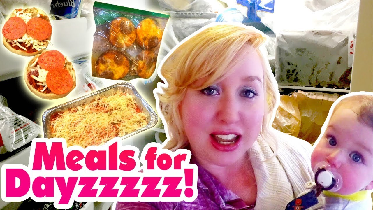 Cook With Me: Freezer Meals for Dayzzzzz! Bulk Cooking for ...