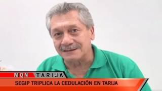 SEGIP TRIPLICA LA CELUDACION EN TARIJA