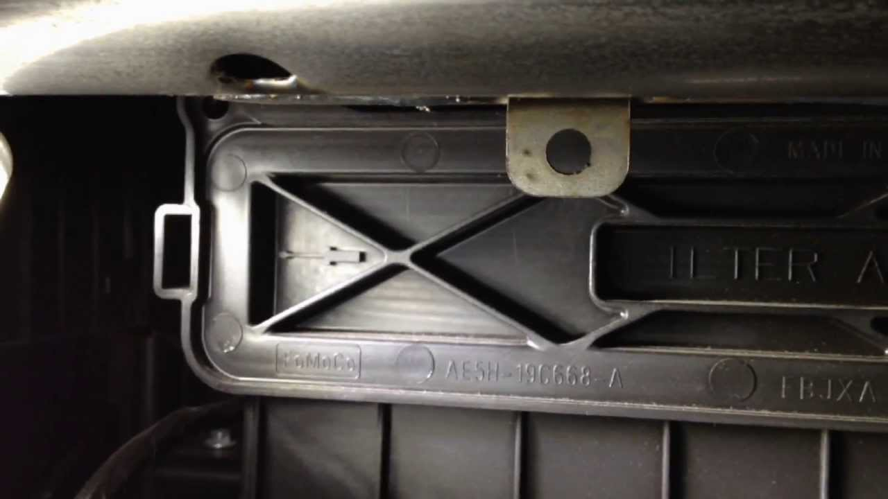 Ford Fusion: Chirping or Inoperative Blower Motor