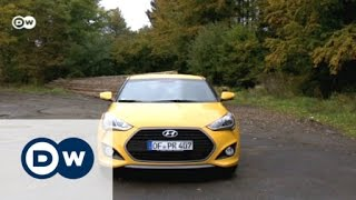 Coup with three doors Hyundai Veloster Drive it