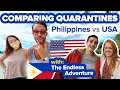 Philippines Vs US Lockdown. Which Quarantine Is Better? 1 Million Covid-19 Cases Compared To 10,000