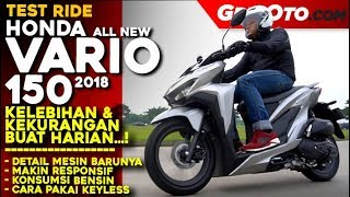 Honda Vario 150 2018 | Test Ride Review | GridOto