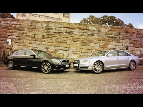 2016 Mercedes S Class Vs Audi A8 | ULTIMATE REVIEW & COMPARISON