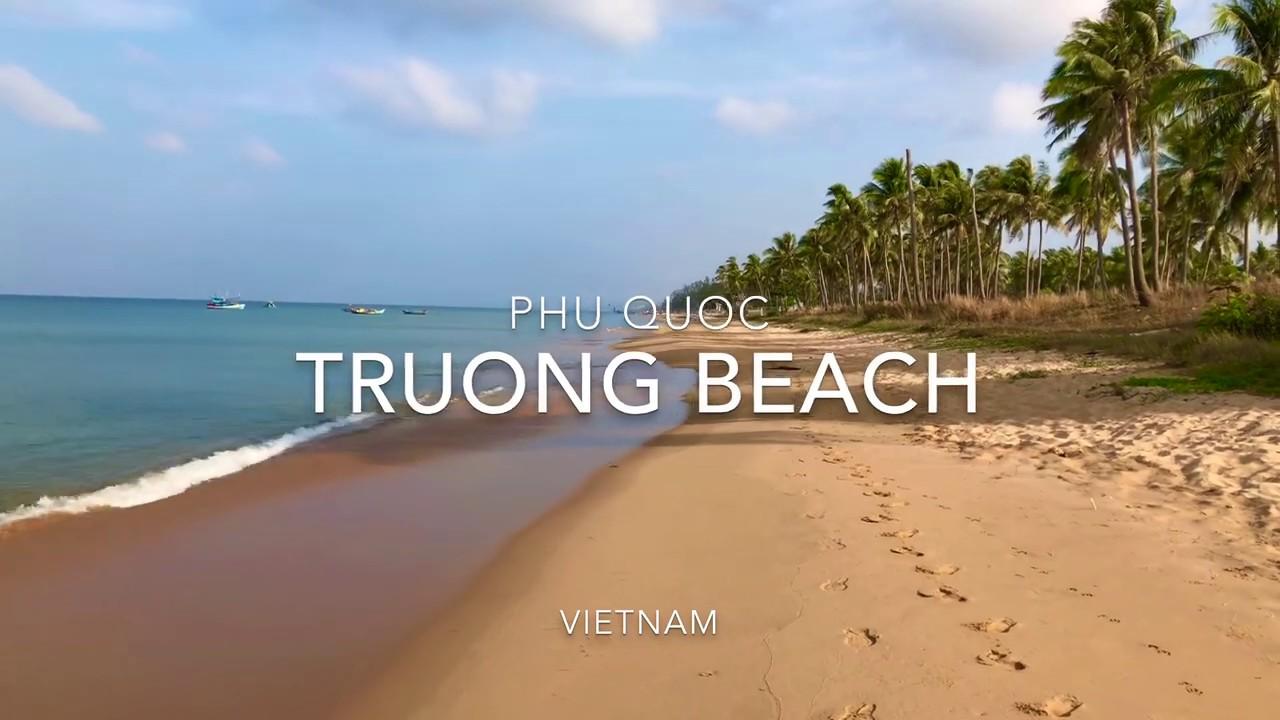 TRUONG beach (long beach) Phu Quoc Vietnam