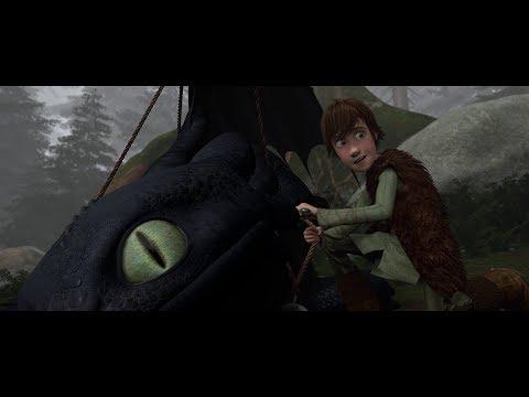 Иккинг отпускает дракона  Как приручить дракона ( How to Train Your Dragon )