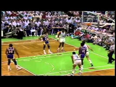 1987 NBA Finals Gm. 4 Lakers vs. Celtics (3/7)
