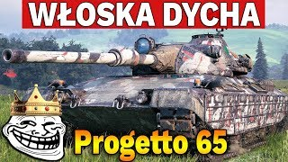 NAJLEPSZA TAKTYKA - Progetto M40 mod. 65 - World of Tanks