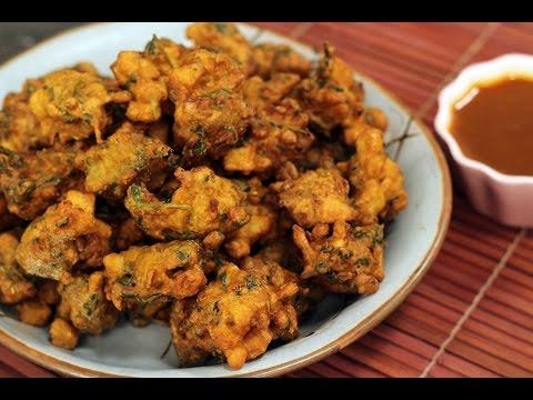 Sindhi Pakora With Sweet Tamarind Chutney   Majha Kitchen   Sanjeev Kapoor  Khazana - YouTube
