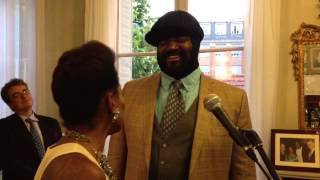 China Moses and Gregory Porter