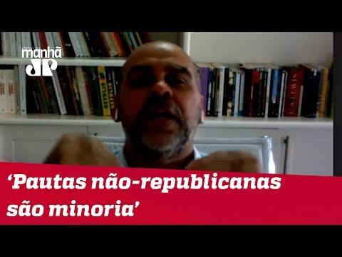 Alexandre Borges: Pedidos de pautas não-republicanas são minoria