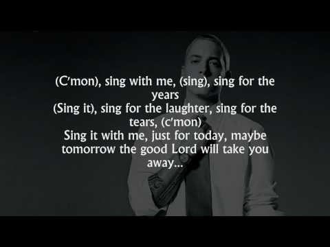 Eminem - Sing For The Moment (lyrics) [HD]
