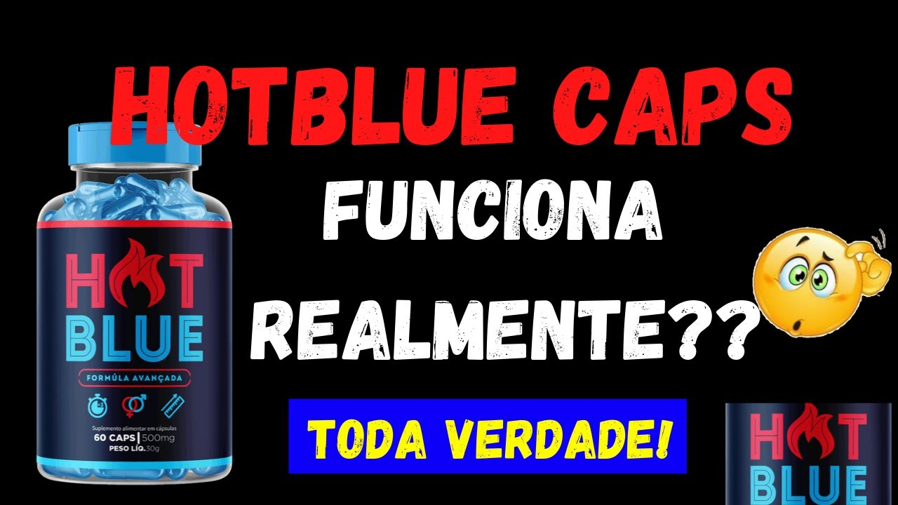 hot blue caps mercado livre