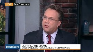 Fed's Williams: Policy to Be Accommodative for Few Years