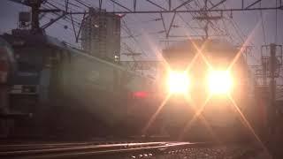 貨物列車 1097レ EF210-146 2019/02/11 花月園前踏切