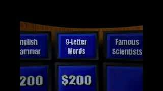 Jeopardy! (Part 3)