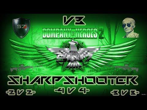 Company of Heroes 2 4v4 - KV1s and B4s V3