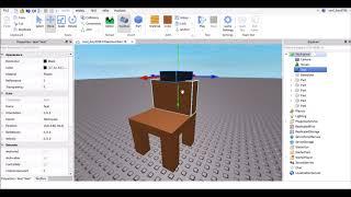 Cómo hacer una silla en la que puedas sórdarte - Roblox Studio