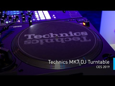 Technics MK7 DJ Turntable | #PanasonicCES 2019 Mp3