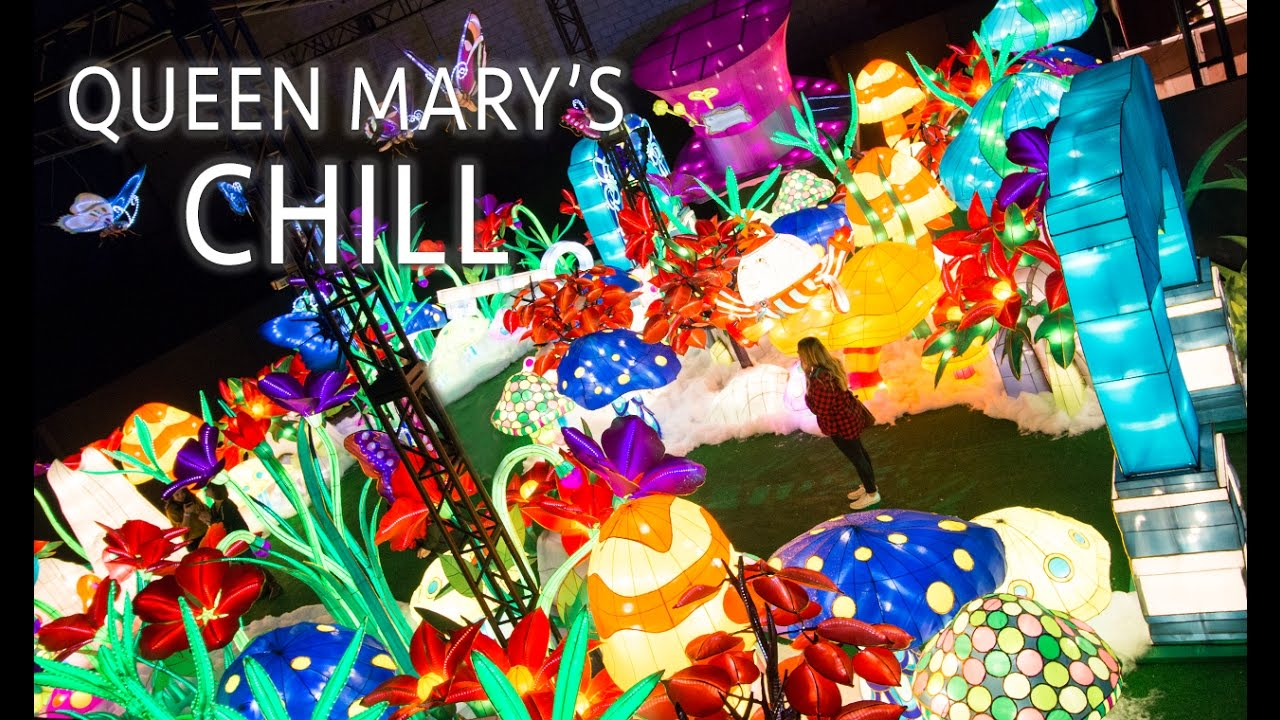Queen Mary's Chill 2016: An Alice and Wonderland Adventure