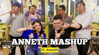 Download Mungkin Hari Ini Esok Atau Nanti X Tetap Untukmu (KERONCONG) - ANNETH ft. Fivein #LetsJamWithJames