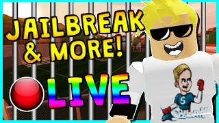 🔴 GETTING THE HIGHEST BOUNTY!? | ROBLOX JAILBREAK LIVESTREAM | COME PLAY!