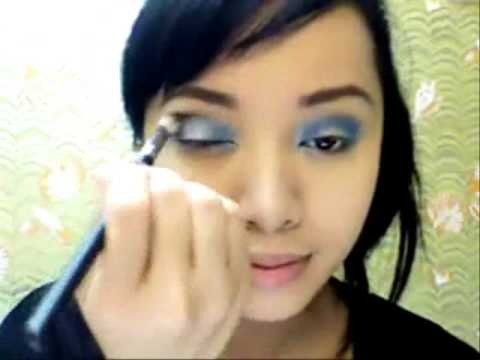 MichellePhan: Huong dan trang diem khi deo kinh makeup
