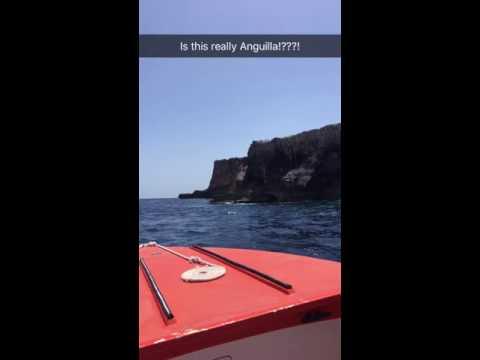 Anguilla Snapchat - Exploring Mysterious Scrub Island with Nature Boy