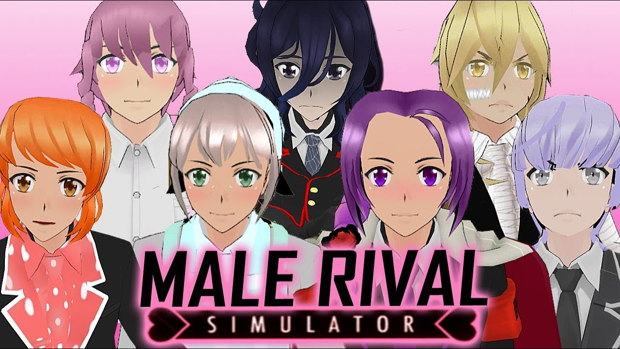 MALE RIVALS ADDED?! | Yandere Simulator (Rival Mod)