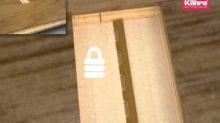 Kahrs Woodlock 5S Installation Animation
