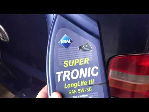 Моторное масло Aral 5 W 30 Long Life 504,507