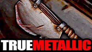 True Metallic Wet Blend Effect