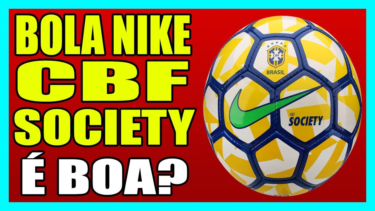 BOLA NIKE CBF SOCIETY - Bola 95ebc809f2e46