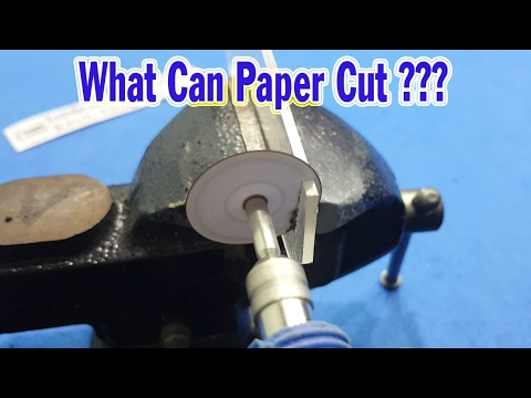 What Can Paper Cut ???