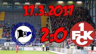 DSC Arminia Bielefeld 2:0 1. FC Kaiserslautern - 17.3.2017 - Lustlos, Ideenlos, Punktelos...