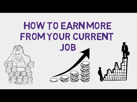 5 Ways to Earn More Money from Your Current Job
