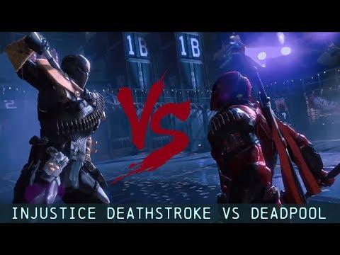 CHAR SWAPS; Batman; Arkham Origins; Injustice Deathstroke Vs Deadpool