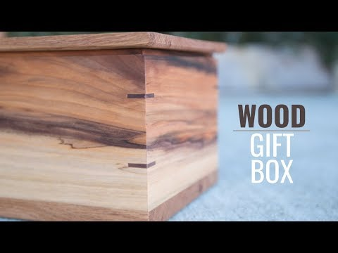 Decorative Wood Box // First Box DIY Woodworking